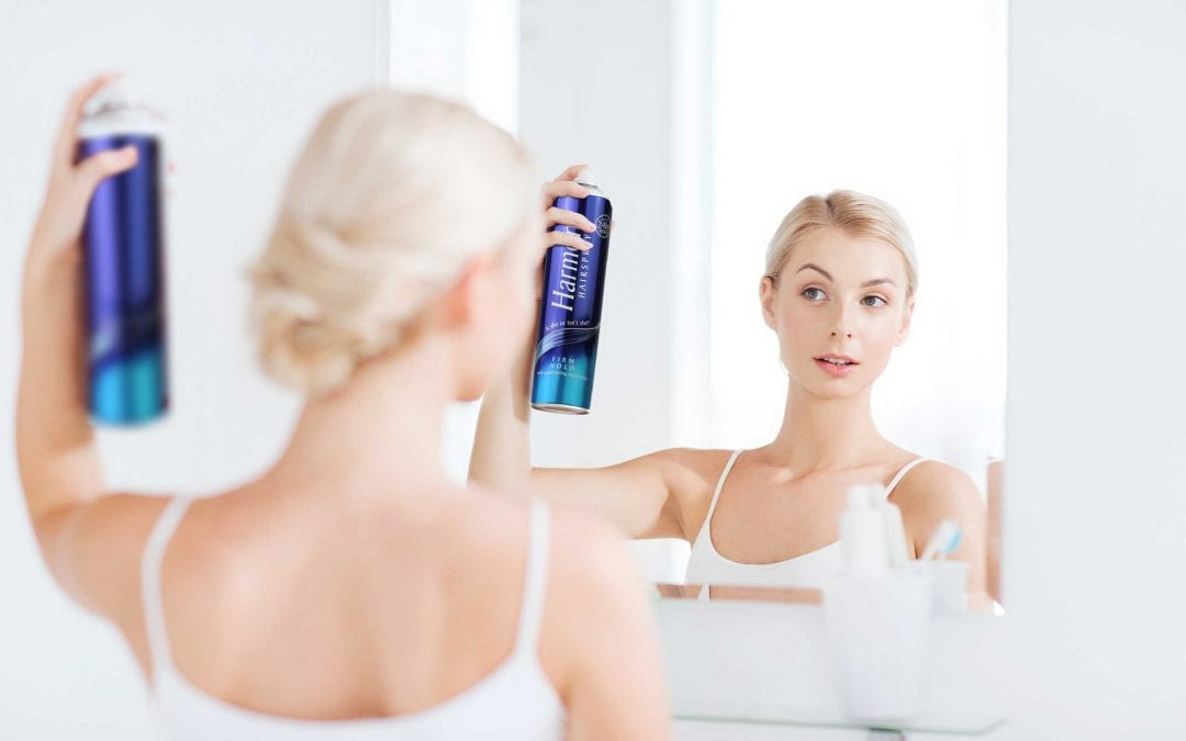HOW TO USE HAIRSPRAY PROPERLY